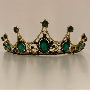 Black and Green Tiara